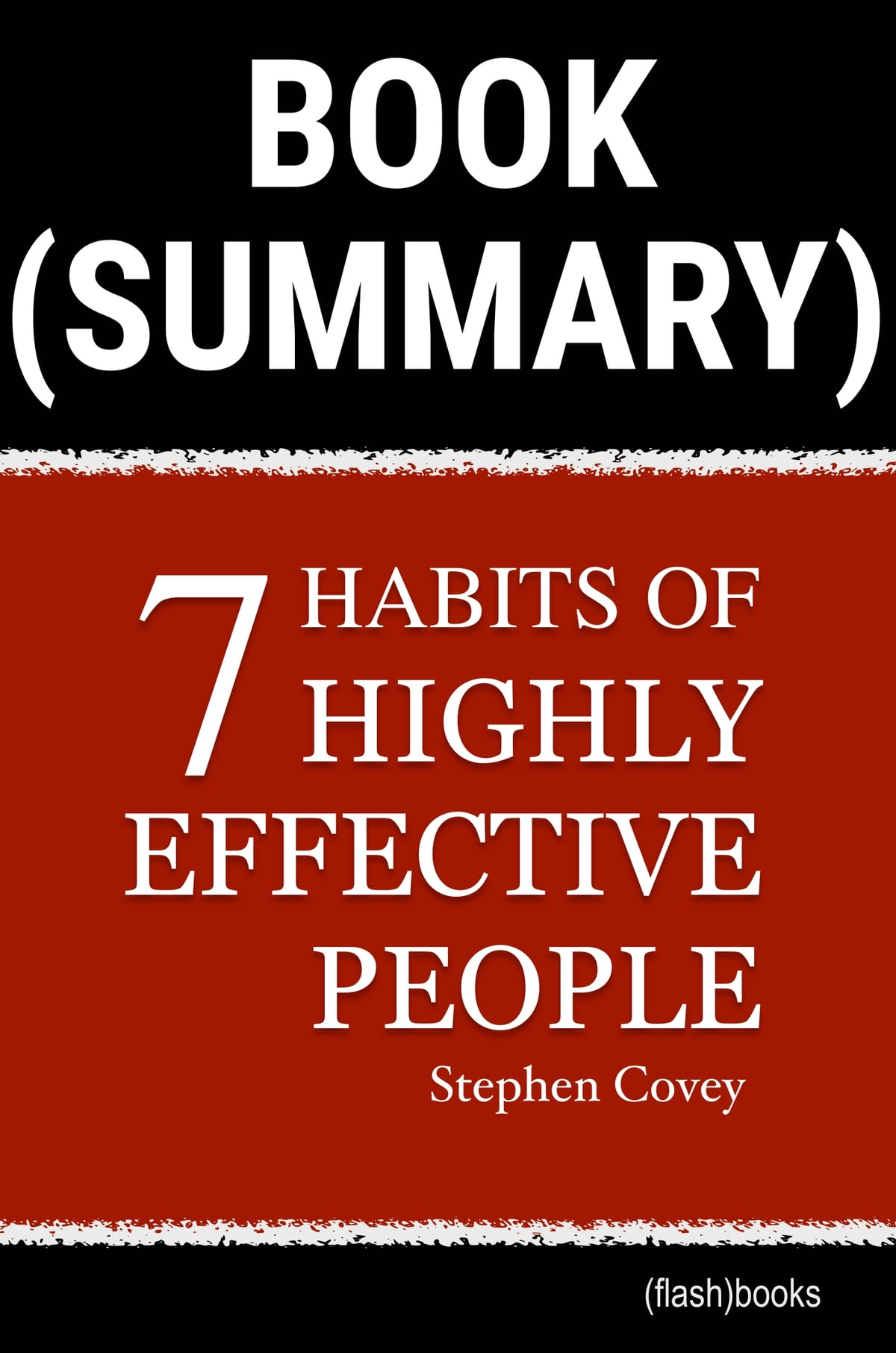Book Summary The 7 Habits Of Highly Effective People By