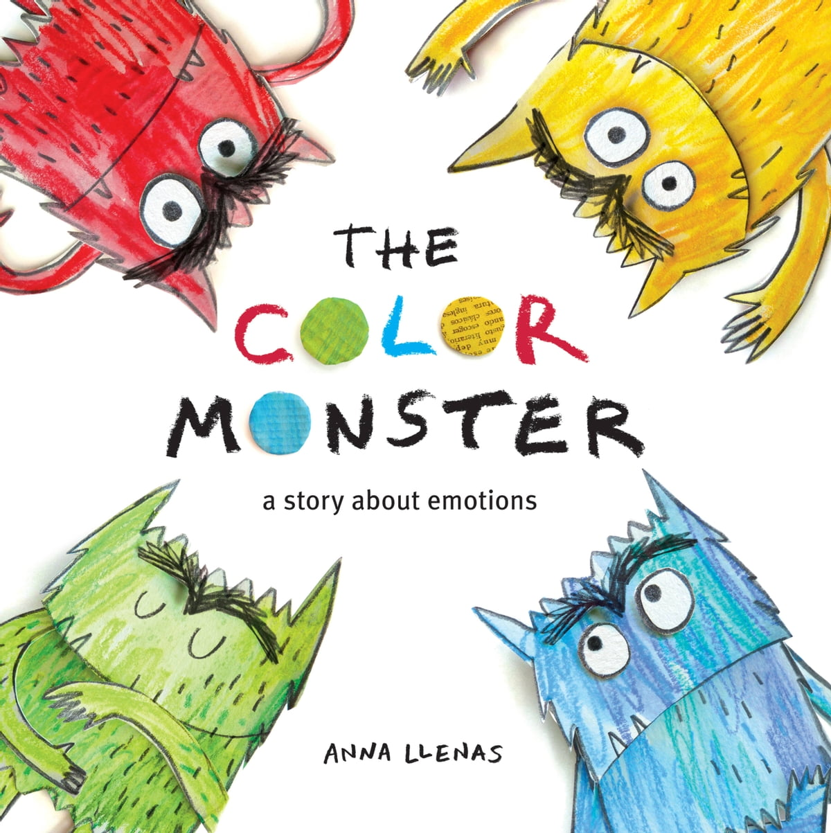 The Color Monster Ebook By Anna Llenas