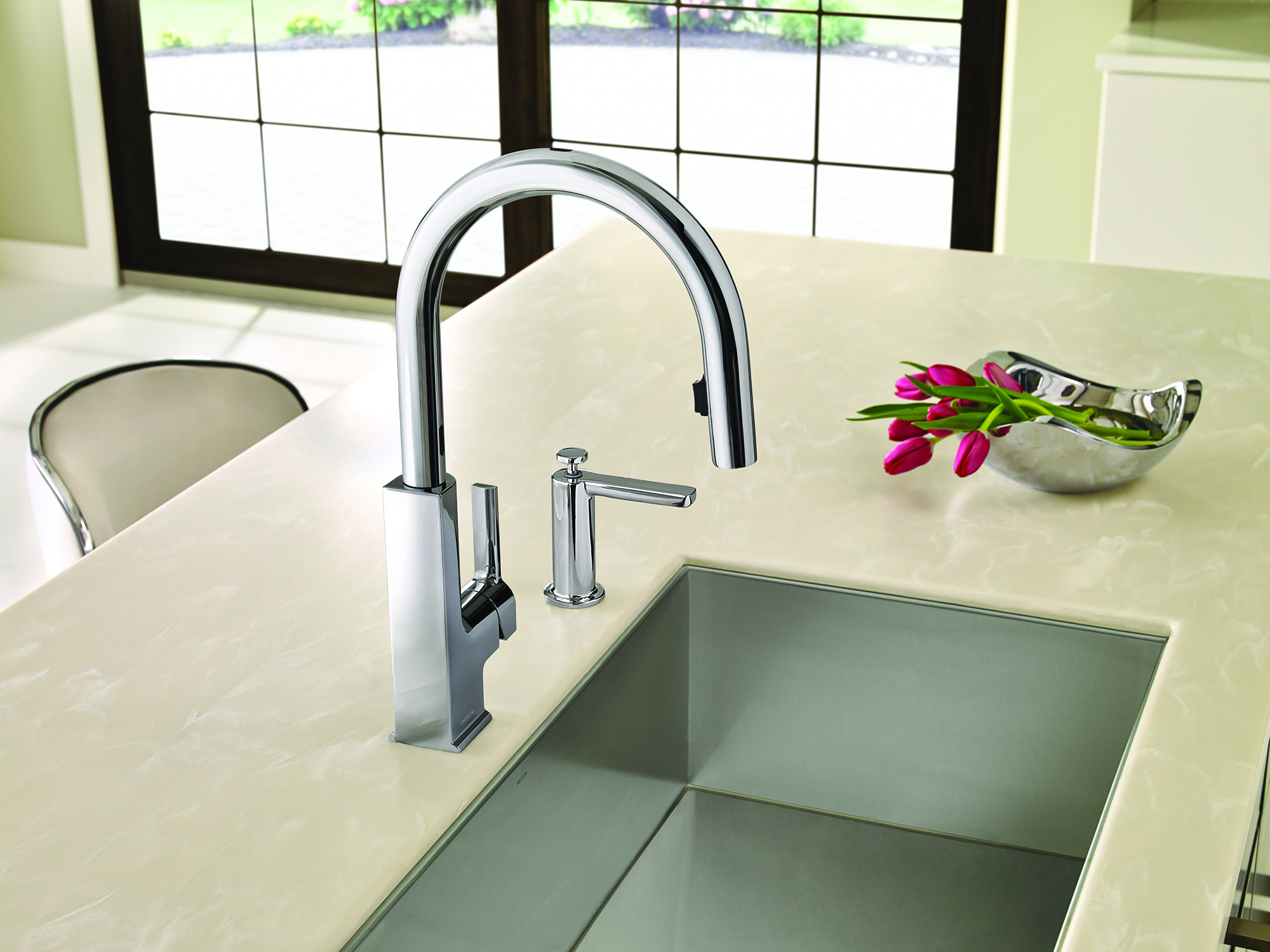 why touch your kitchen faucet when you