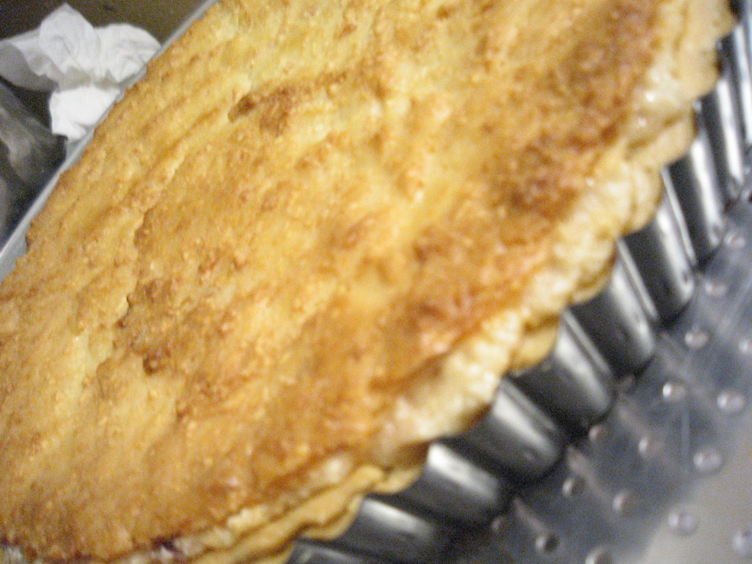 whole tart in pan