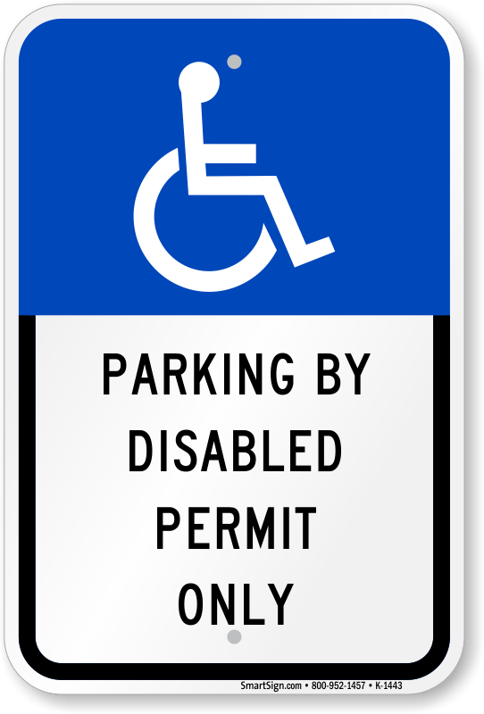 Parking Permits People Disabilities
