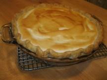 Lemon Meringue Pie - finally we nailed it!