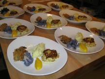 Plating surf and turf