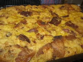 Italian bread pudding - what better use of all that panettone from Christmas, eh?