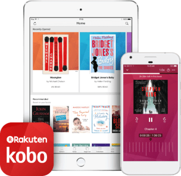 Image result for kobo audiobooks
