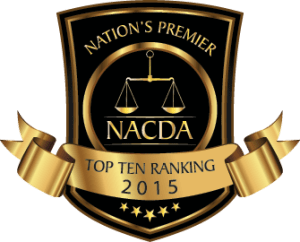 NACDA 2015 Top Ten Rating
