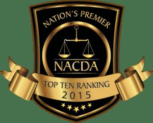 NACDA 2015 Top Ten Rating
