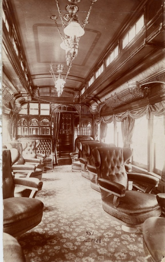 Pullman parlor car, Smithsonian Institute Archives, http://sirismm.si.edu