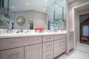 Cream Master Bathroom Remodel