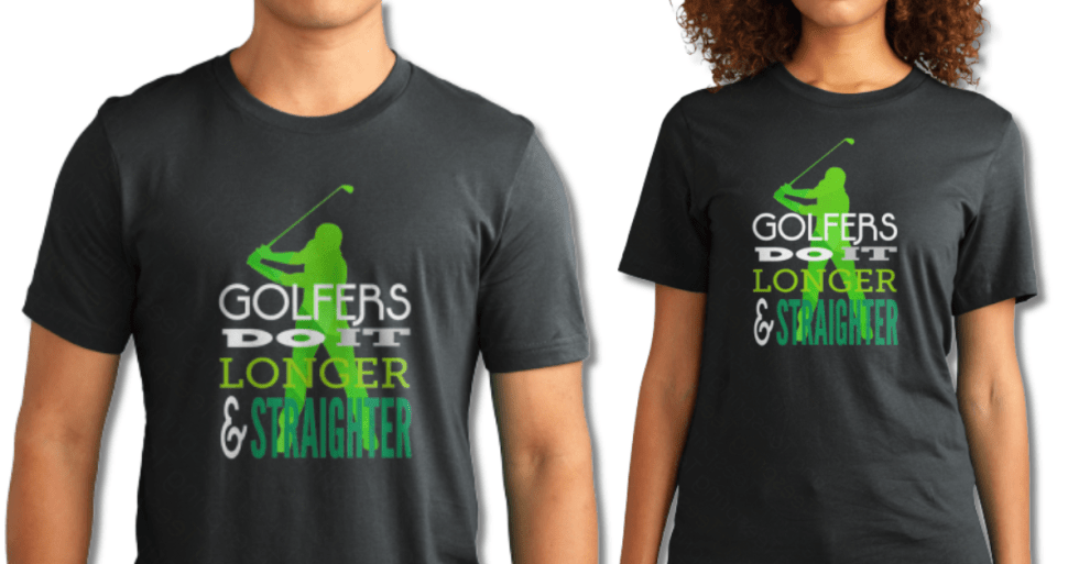 Golfers Do It Longer & Straighter