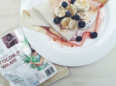 Healthy Ricotta & Berry Crepes