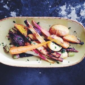 Riverbar & Kitchen - roasted root vegetables