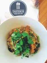 Taste Box - Lamb and Pumpkin Curry