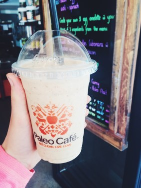 THE Salted Caramel Smoothie