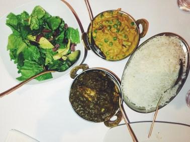 Healthy Indian Spread