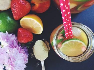 Iced Tea w. Nopal Cactus