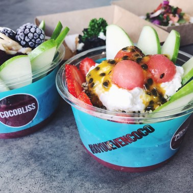 NEW Acai Bowls - Fruit Tingle and Apple & Blackberry