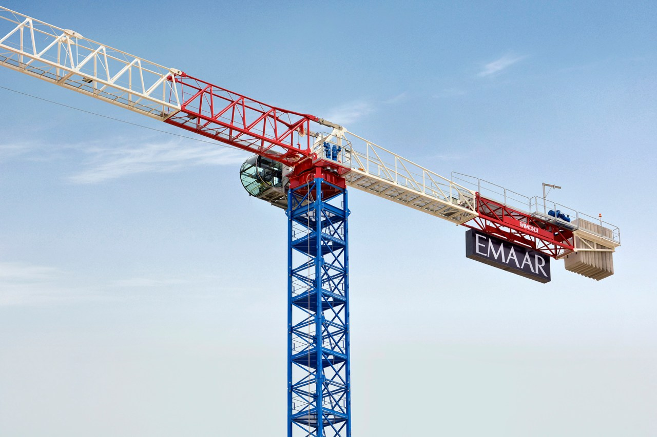 Nurol Construction puts five new Raimondi cranes to work
