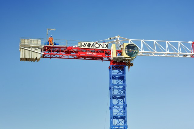 Raimondi Middle East erects eight tower cranes at Aljada megaproject in the United Arab Emirates