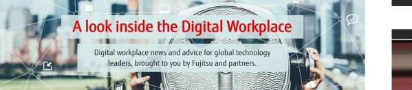 Fujitsu Digital Workplace microsite
