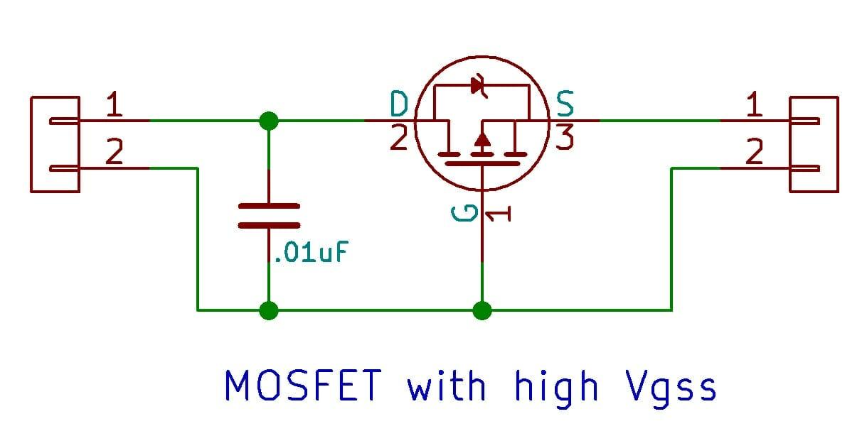Solar Power Supply Circuit
