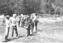 Scouts at camp, May 15.