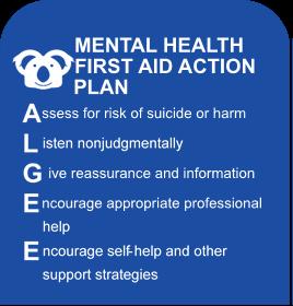 MHFA action plan