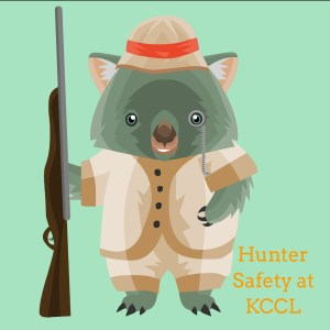 Hunters' Safety Class at KCCL - 3 days in August