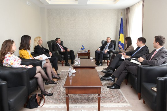 Minister Hoxhaj: Parliamentary diplomacy and civil society play an important role in the recognition process
