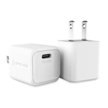 【新商品】 EpeiosブランドよりUSB Type-C採用で世界最小クラスのPD急速充電器「20W Ultra PD Charger」発売
