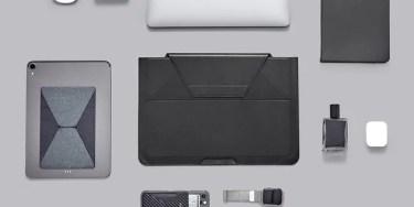 【新商品】スタンド+保護+収納を叶えたMOFT多機能キャリーケースが発売