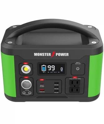 【新商品】停電・災害時の備えに、キャンプ・車中泊などのアウトドアで活躍する大容量ポータブル電源「MONSTER POWER Portable Power Station 500」が発売