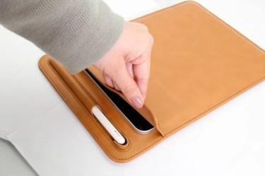【新商品】iPad ProのスタンドにもなるスリーブケースiPad Pro用ケースが、オウルテックから発売
