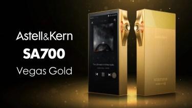 【新商品】「SA700」のリミテッドカラーモデル 『SA700 Vegas Gold』が発売