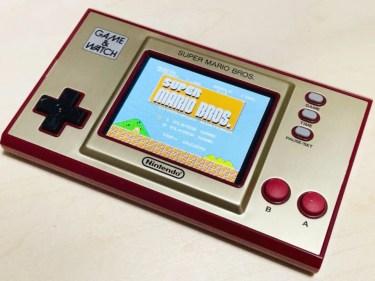 【ウラチェックレビュー】ゲーム&ウオッチ スーパーマリオブラザーズ |1980年に発売された任天堂初の携帯ゲーム機シリーズを現代風アレンジしたゲーム&ウオッチの紹介