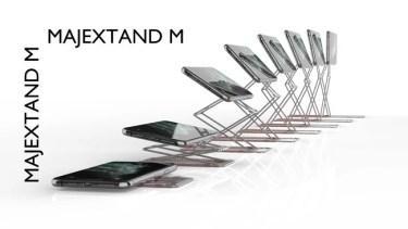 【クラウドファンディング】人間工学に基づくスマートフォン/タブレット用スタンド「Majextand M」がクラウドファンディング中