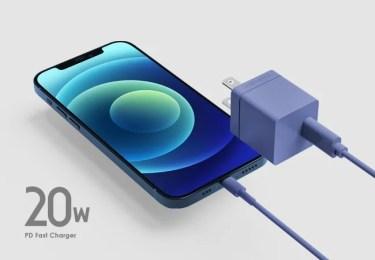 【新商品】シンプルでスタイリッシュなデザインのPD充電器 「20W USB PD Fast Charger」が発売
