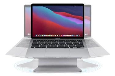 【新商品】360度回転するMacBookアルミニウムスタンドRain Design mStand 360が発売