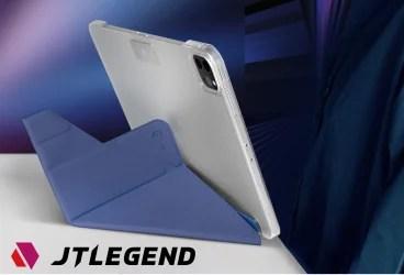【新商品】状況に応じてiPadの角度変えられるiPad Pro 11インチ12.9インチ対応「JTLEGEND AMOS QCAC Folio case with pencil holder&clip」 が発売