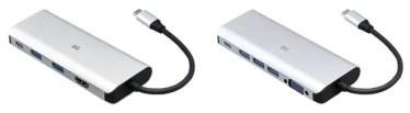 【新商品】充電しながら映像出力やUSBハブ機能が使えるモバイルノートに適したドックタイプのUSB Type-Cアダプターが発売