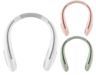 【新商品】軽量で使いやすいWrap around neck fanが発売