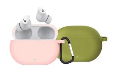 【新商品】指紋が付きにくく、手触りの良いシリコンで出来た「Beats Studio Buds シリコンケース」が発売