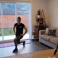 So you can just jump online and get started with your workout