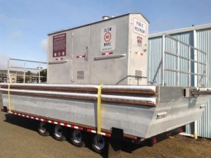 A floating restroom is expected to be open to the public on July 5th near the Port of Siuslaw.