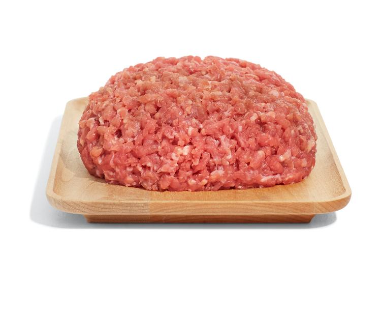 Grass-fed 90 percent lean hamburger