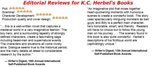 Editorial Reviews for K.C. Herbel's Books