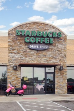 Neighborhood Starbucks in Shawnee KS