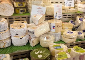 Delicious cheeses at The Better Cheddar in Prairie Village