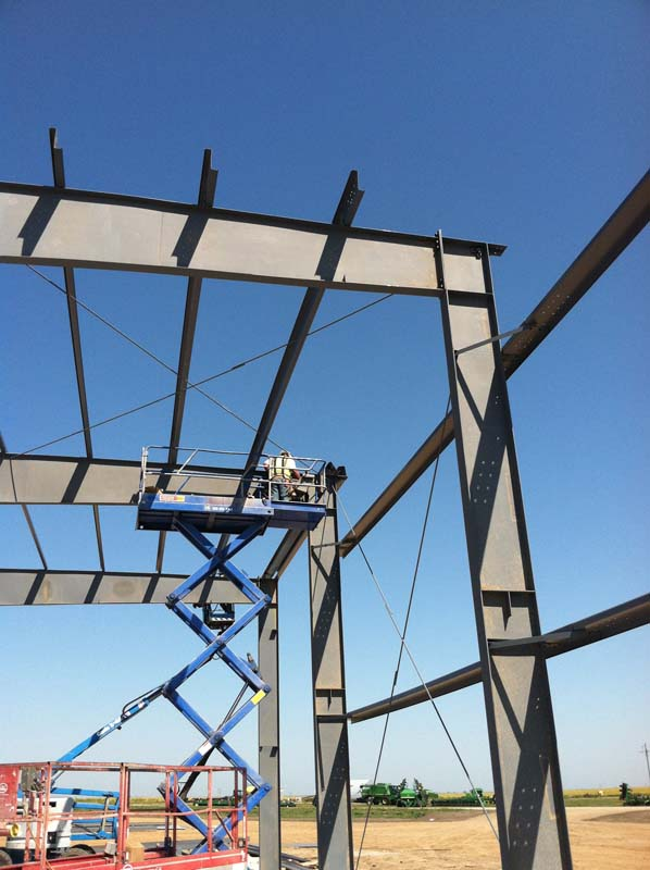 KCI grey iron commercial construction project