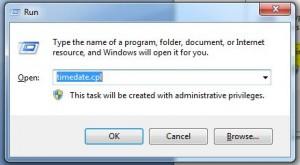 windows run command dialog